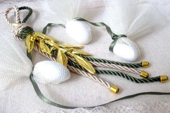 5pcs, Wedding Favors For Guests, Greek Wedding, Olive Branch Favors ...