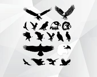Eagle svg,png,jpg,eps/Eagle clipart for Print,Design,Silhouette,Cricut and any more