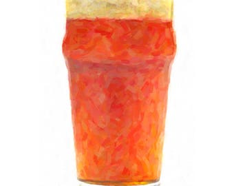 Beer Print, Microbrew Art, Beer Poster, Beer Art, Bar Decor, Bar Art Digital Download Printable File #bc32