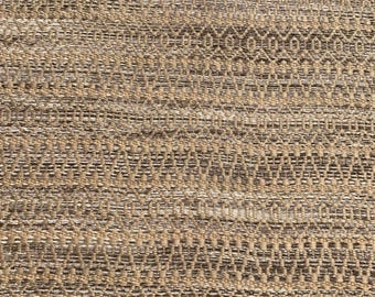 Luxury Jute Area Rug Handcrafted of a blend of natural and Rayon and jute.