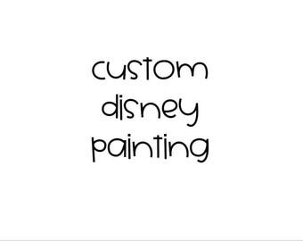 Custom Disney Painting