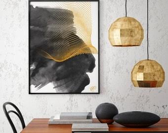 Abstract Print, Printable Art, Abstract Art, Watercolor Wall Art, Abstract Painting, Minimalist Print, Abstract Wall Art, Modern Wall Art