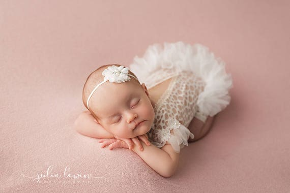 Newborn Photoprops, baby Ballerina