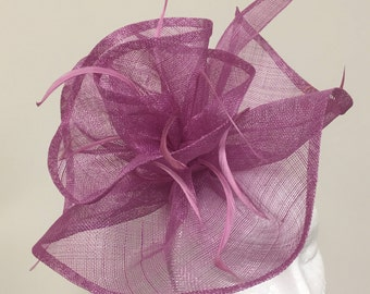 Ladies Crocus Large Fascinator