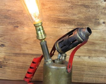 Blow Torch Light, Industrial Lamp