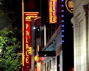 Neon Jazz - Sundance Square Fort Worth, Texas neon sign fine art print