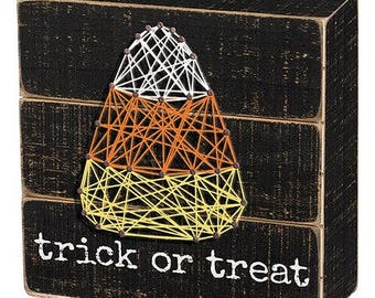 String Art - Trick or Treat