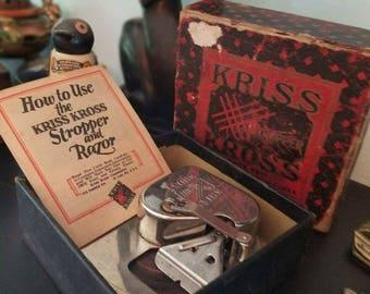 Stop! Look! Read! Vintage Kriss Kross Stropper and Razor
