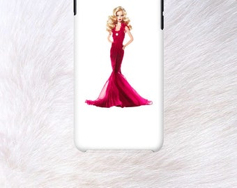 Barbie red dress Phone case