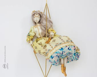 Dragaica OOAK BJD Porcelain Doll