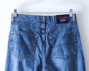 TOMMY HILFIGER Vintage Denim Jeans . Size 32. 1990s