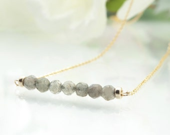 Chakra Necklace Labradorite Necklace Healing Necklace Healing Crystal Necklace Crystal Energy Necklace Protective Crystal Protective Jewelry