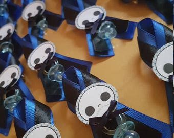 Exceptional The Nightmare Before Christmas Jack Skellington Baby Shower Pins