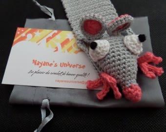 Bookmark crochet 100% cotton