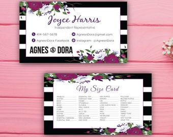 Agnes and Dora My Size Card, Size Card Agnes and Dora, Custom Agnes And Dora, Digital Agnes and Dora, Printable File