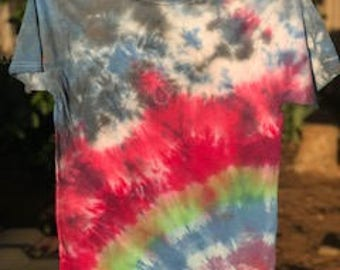 tie dye rainbow t-shirt