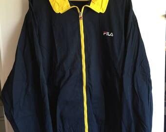 Vintage 90's FILA zip up jakcet