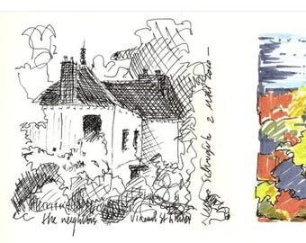 Rue de Chantilly Sketch