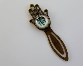 Hamsa hand bookmark