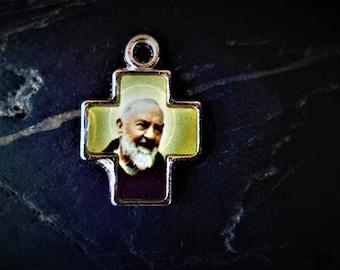 1 cross Padre Pio 16 X 23 mm