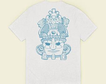 Mayask - White T-shirt 100% cotton organic