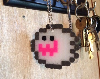 Clear Boo Keychain