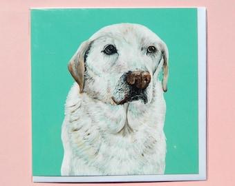 Labrador Greetings Card