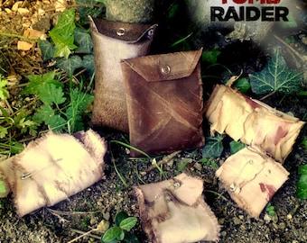 Replica: Bandages Lara Croft Tomb Raider - 4 Bandages + 2 pouches gift