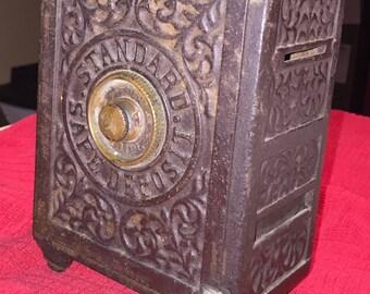 Vintage Safety Deposit Bank