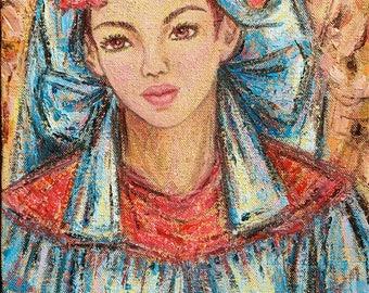 Mariya - original painting in bright and harmonious colors