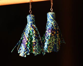 Tassel earrings / wax-Sarah