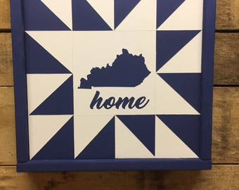 Kentucky Mini Barn Quilt