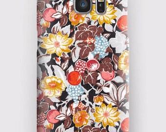 Case for Samsung S5, S6, S6 and S7, S7 + S8 S8 + A3, A5, J3, GP Note 4,5, 8, Liberty Burgundy plum