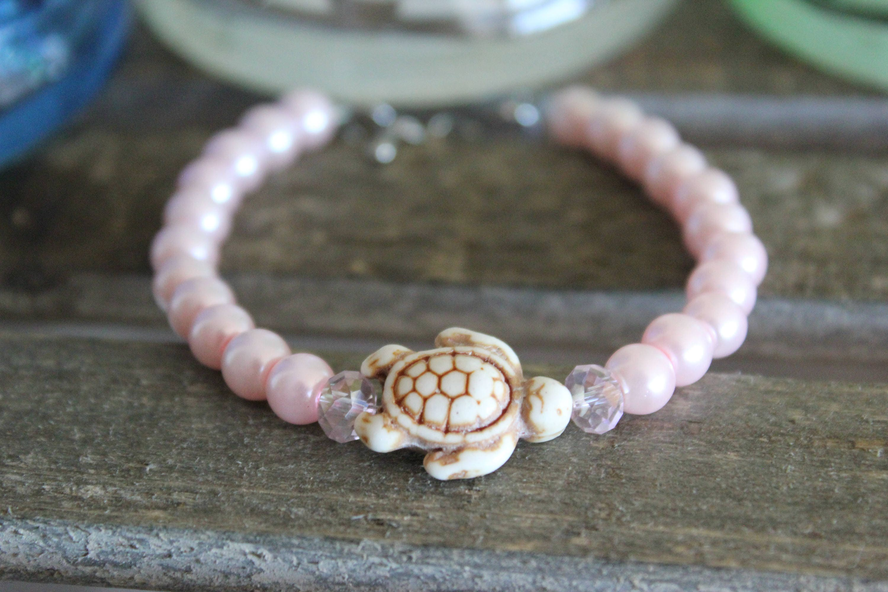 stoney turtle lane clover products bracelet