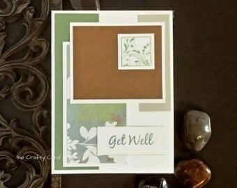Get Well card, get well soon, sympathy card, feel better card