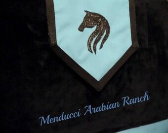 Horse Blanket Bag, Horse Blanket Storage Bag, Horse Blanket Holder, Horse Tack Bag, Horse Show, Equestrian Luggage, Equine Bag, Embroidery