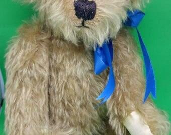 Mohair handmade teddy bear
