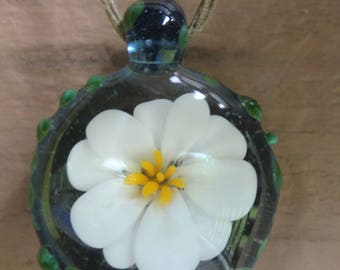 Water Lily Pendant
