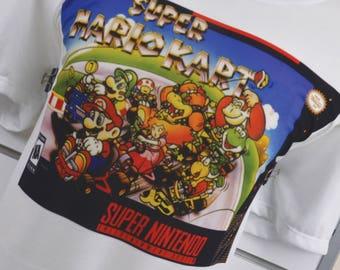 Super Nes Mario Kart shirt