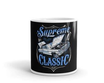 Classic Car Mug - Car Coffee Mug - Lowrider Mug - Car Lover Gift - Car Enthusiast Gift -  Classic Car Gifts