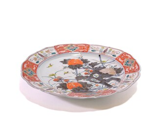 Chinese large serving porcelain plate