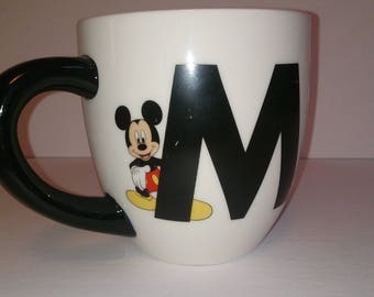 Mickey Mouse Black & White Coffee Mug