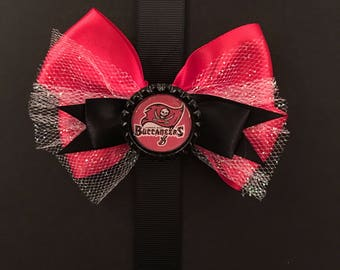 Tampa Bay Buccaneers Football Bow