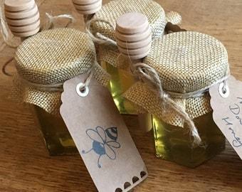 Bee Mine Honey Wedding Favours 45ml Party Present