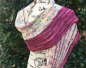 Spring Berries On The Porch Shawl