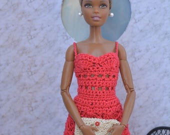 """Dress for Barbie dolls """"Made to Move"""" MTM"""