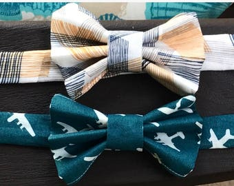 Dog Bow Tie, Dog Bow Ties, Organic Cotton, Organic Cotton Bow Tie, Organic Bow Tie, Dog Clothes, Bow Tie for Dogs, Eco Dog Clothes