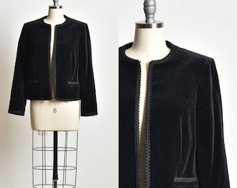 70s Fashion, Velvet coat, black coat, velvet coats women, womens velvet jacket, black velvet coat, formal coat, xmas gift, gift for her