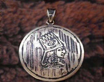 Tigran the Great King of Armenia Armenian gifts armenian jewelry Armenian men jewelry Armenian gifts for men Armenian men gift for armenian
