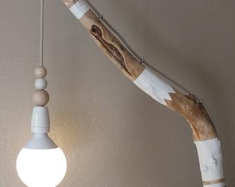 Lampadaire liseuse décorée